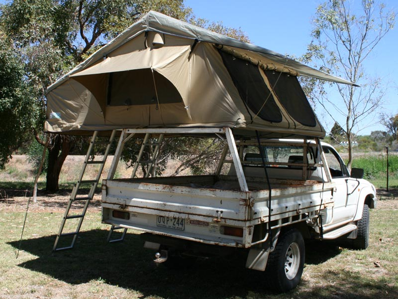 4 Person Skyview Roof Top Tent : ute top tent - memphite.com