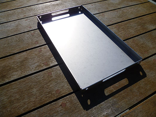 Metal Plate Wedge : The wedge full stainless steel hot plate savannah camper