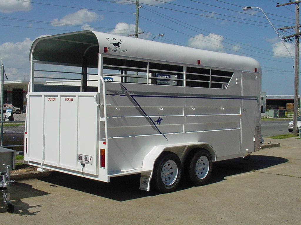 4 Horse Angle Load Floats Savannah Camper Trailers