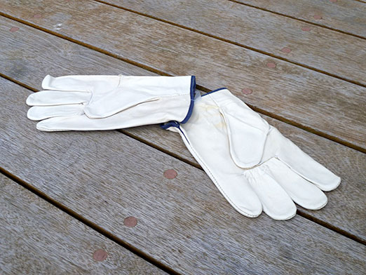 The Wedge Leather Riggers Safety Gloves